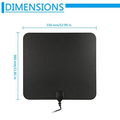 Blimark HDTV Indoor Antenna- 50 Miles Digital Long Range TV HD Antenna Upgraded Version Better Reception