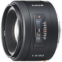 Sony 50mm f/1.4 Lens for Sony Alpha Digital SLR Camera (Certified Refurbished)
