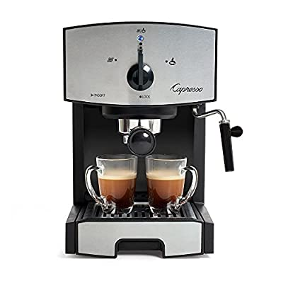 Capresso EC50 Stainless Steel Pump Espresso/Cappuccino Machine from Jura-Capresso Inc