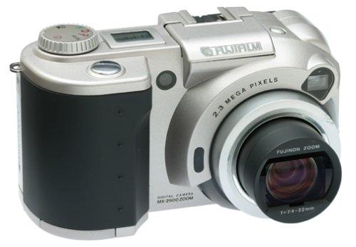 Fujifilm MX2900 2.3MP Digital Camera w/ 3x Optical Zoom Bundle