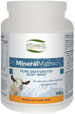 Mineral Matrix 1.44kg from goat whey Brand St Francis