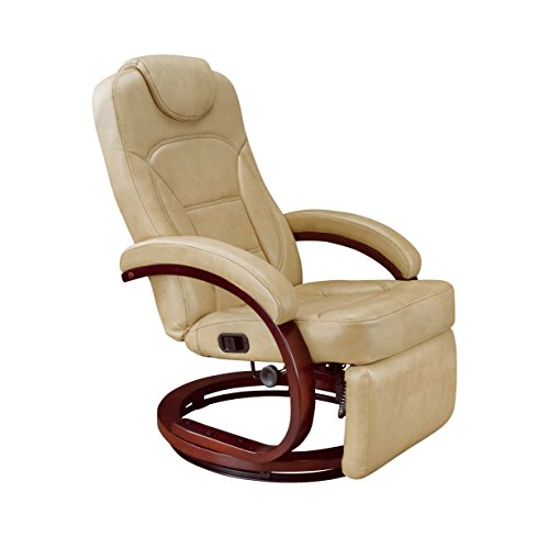 Thomas Payne 426797 XL Euro Recliner Chair with Footrest - Alternate Latte