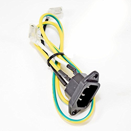 Afg 019749-A Treadmill Power Cord Receptacle Genuine Original Equipment Manufacturer (OEM) Part for Afg by Afg