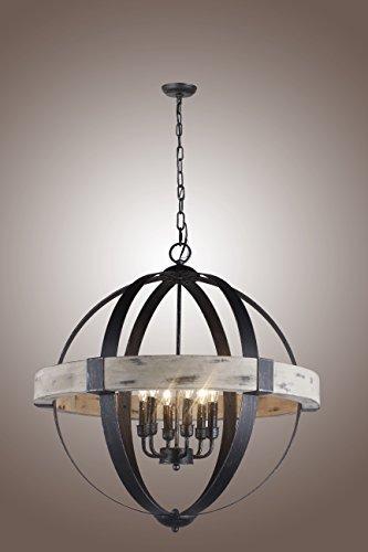 Wooden Pendant Light Shade