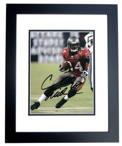 Autographed Cadillac Williams Photo - with Inscription - PSA/DNA Certified - Autographed NFL Photos - Cadillac Williams Autographed Photo