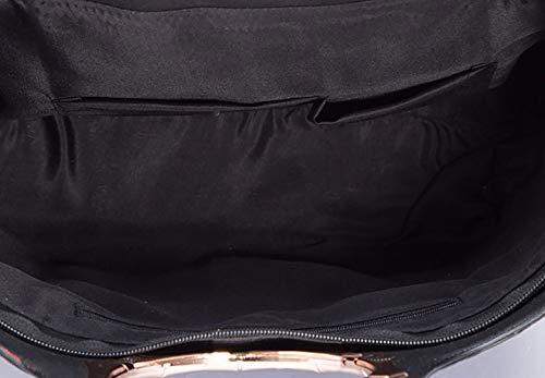 Carteras Fekete hombro y bandolera de Bolsos Mujer bolsos clutches Shoppers mano de y qpw0xAfO