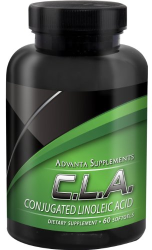 Pure Conjugated Linoleic Acid, 1000mg CLA Diet Supplement by Advanta Supplements|Powerful Weight Loss/Dieting Pills for Women & Men|Boost Metabolism, Reduce Fat Storage, Lower Cholesterol