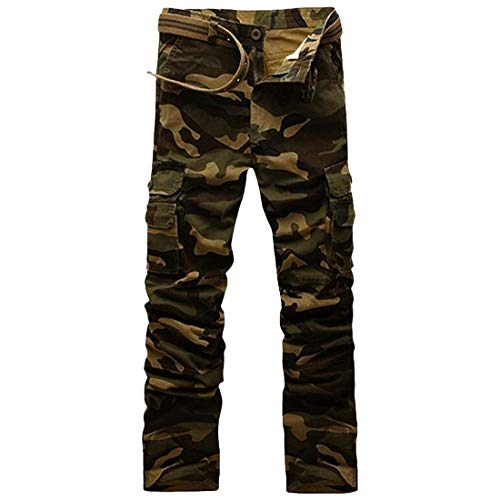Terrain Sur Mode Droite Longue Plusieurs Casual Sac Travail Des Le Hommes Vêtements Camouflage De Militaire Pantalon Charge Kaki Saoye W1wnq0pq