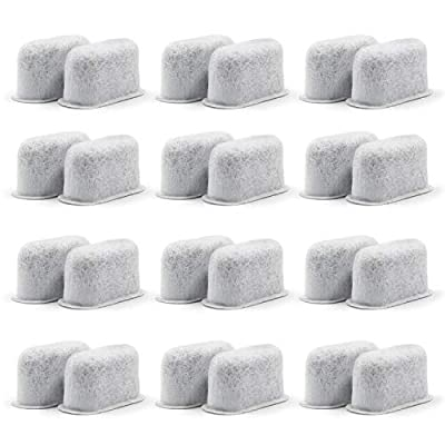 12 Pack Cuisinart Compatible Charcoal Water Filters - Removes Chlorine, odors, and others impurities from Water - for Cuisinart Coffee Machines