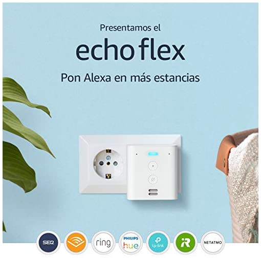 Presentamos el Echo Flex - Controla con la voz dispositivos de Hogar digital a través de Alexa