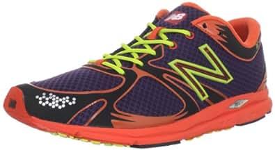 New Balance Men's MR1400 Competition Track Shoe,Purple/Orange,8.5 D US