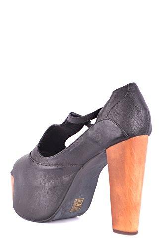Black Leather Jeffrey MCBI163052O Campbell Women's Sandals TYTwZ6q