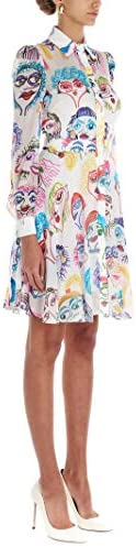 MOSCHINO Luxury Fashion Femme A047805591001 Blanc Fibres Synthétiques Robe   Printemps-été 20