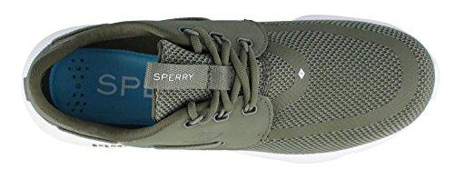 Sperry Top-sider Vrouwen 7 Seas 3-eye Varen Shoe Olive