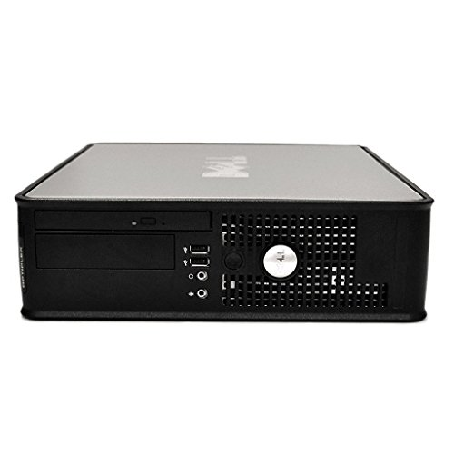 DELL Optiplex Desktop with 22in LCD Monitor (Core 2 Duo 3.0Ghz, 8GB RAM, 1TB HDD, Windows 10), Black (Certified Refurbished)