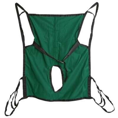 Hoyer One Piece Commode Sling - with Positioning Strap - Size Large