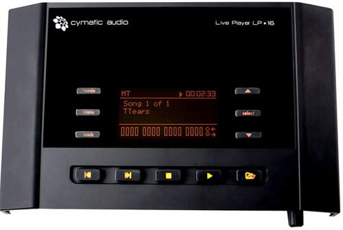 Cymatic Audio 16 USB Audio Live Player LP (64 tracce Midi, 2 ingressi)
