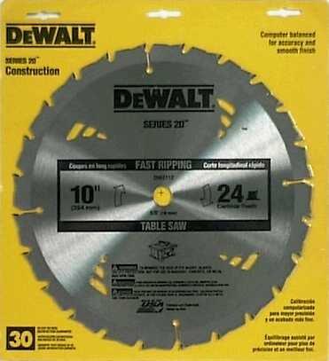 Dewalt Dw7441 Dewalt Dw3106 10 Inch 60t Fine Finish