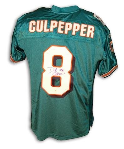 Top Daunte Culpepper Uniform Autographed NFL Jerseys at Amazon's  for sale