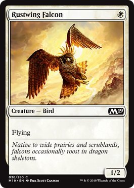 Magic: The Gathering - Rustwing Falcon - Core Set ()