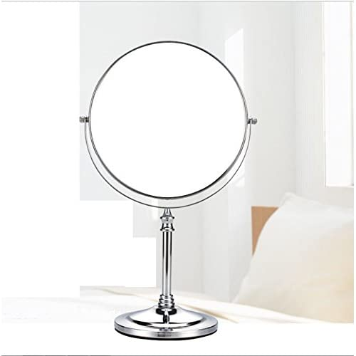 low-cost cosmetic mirror/ desktop double-sided dressing mirror/Metal amplifying mirror-F