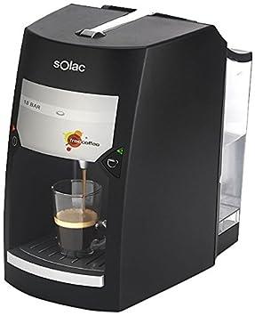 Solac CE4410 Free Coffee - Máquina de café espresso (18 bares), color negro: Amazon.es: Hogar