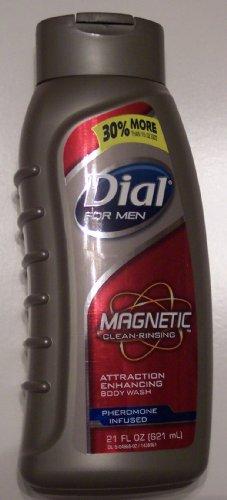 Dial pour hommes magnétique, activité Renforcement-phermone infusée Body Wash 21 fl oz