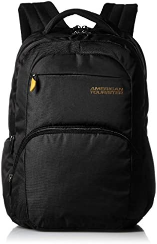 7997a96b2c American Tourister BACKPACK CITI-PRO CT02-BLACK  Amazon.in  Bags ...