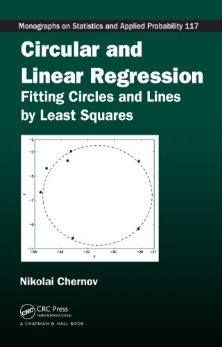 Download Circular and Linear Regression: Fitting Circles and Lines by Least Squares (Chapman & Hall/CRC Monographs on Statistics & Applied Probability) Pdf
