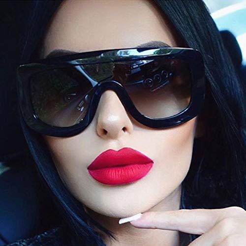 SABRKLC Sungalsses Integrated Sunglasses Women Stars Kim Kardashian Eyewear Brand Contact Lenses Female ()