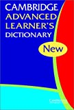 Cambridge Advanced Learner's Dictionary, Cambridge University Press, 0521824222