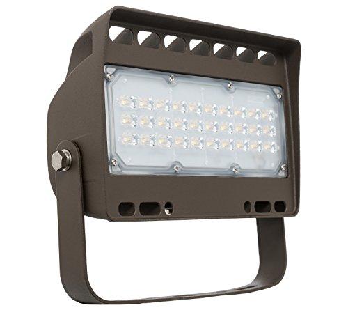 Westgate Lighting LED Flood Light With Trunnion Mount – Security Floodlight Fixture For Outdoor, Yard, Parking Lot, Street, Landscape Lights – UL Listed 7 Year Warranty (50 Watt, 3000K Warm White)