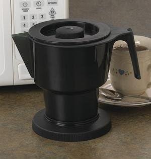 Café Matic para el microondas – Cafetera eléctrica sin filtro ...