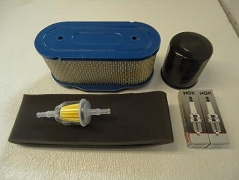 Tune Up Service Maintenance Kit Air Fuel Oil Filters Cub Cadet RZT50 Mower