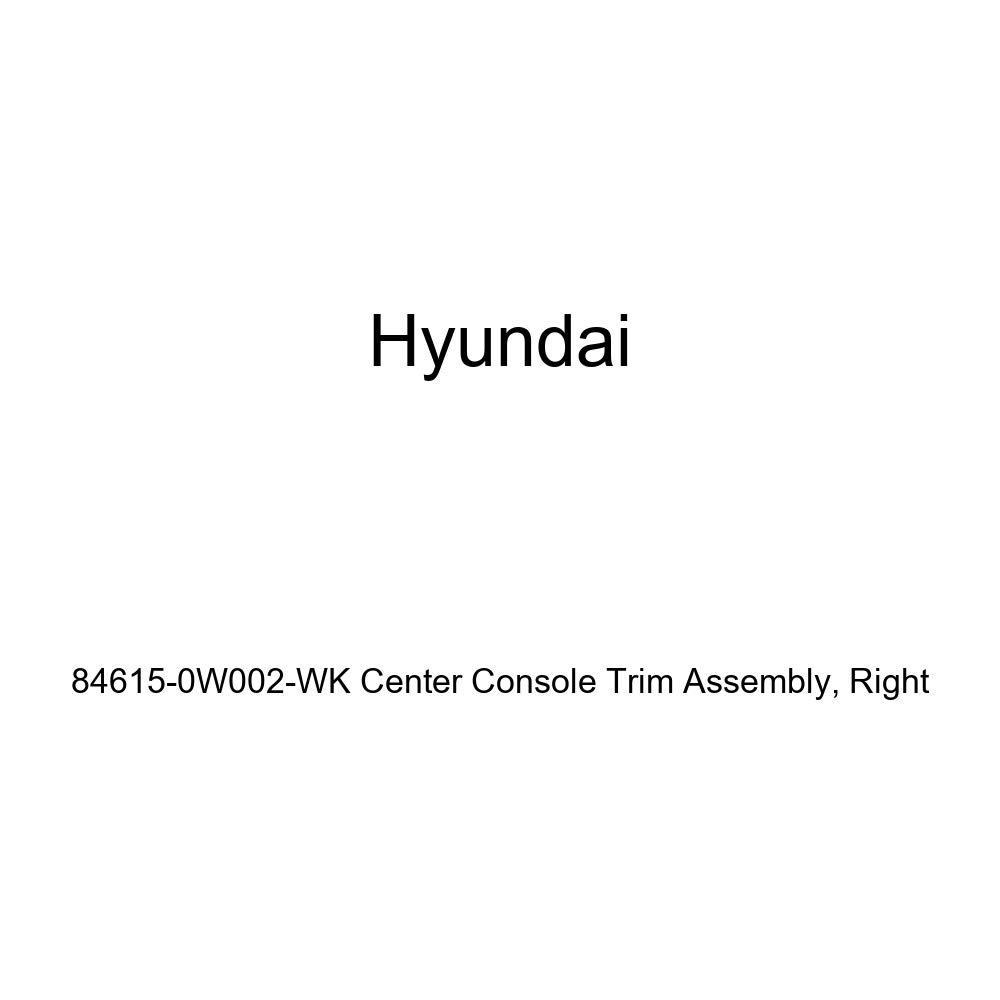 Genuine Hyundai 84615-0W002-WK Center Console Trim Assembly Right
