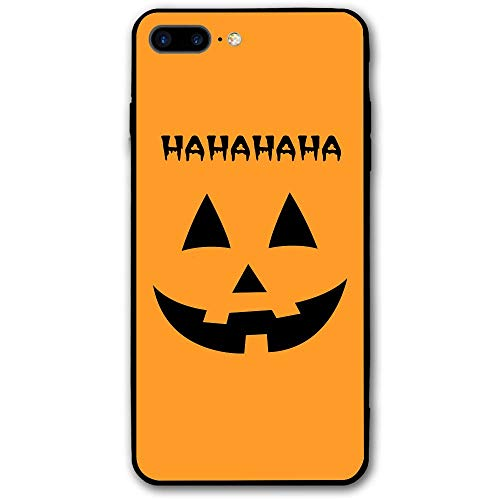 iPhone 8 Plus Case, iPhone 7 Plus Case, Jack O' Lantern Pumpkin Halloween Costume Glitter Liquid Bling Protective Girls Case Floating Bling Sparkle Luxury Women Case TPU+PC for iPhone 7 Plus/8 Plus]()