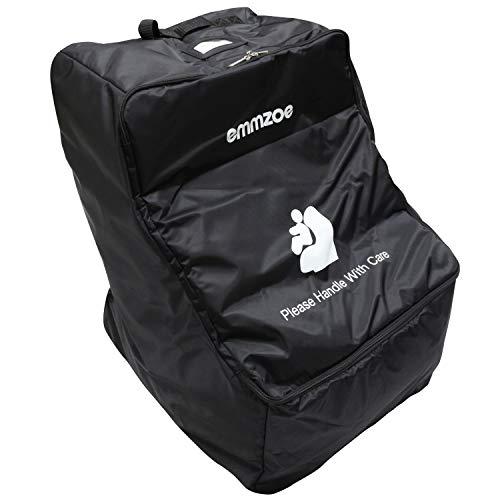 Emmzoe Wheelie Car Seat Padded Luggage Check-in Travel Bag CaseWheels Durable Waterproof Backpack Strap / Emmzoe Wheelie Car Seat Padded Luggage Check-in Travel Bag CaseWheels Durable Waterproof Backpack Strap
