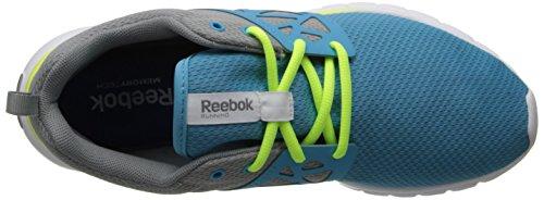 Reebok sublite zapatillas de running Auténtico Blue-Grey-Yellow