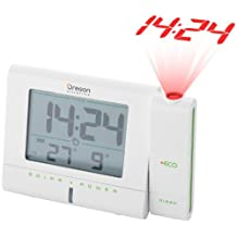 Oregon Scientific RM336PES Eco Solar Projection Alarm Clock Rechargeable Solar Panel by Electronics Hub
