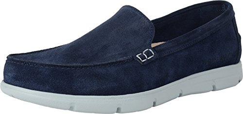 Birkenstock Unisex Domingo Dark Blue Suede Shoe