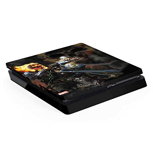 - Ghost Rider PS4 Slim (Console Only) Skin - Ghost Rider Laughs | Marvel & Skinit Skin