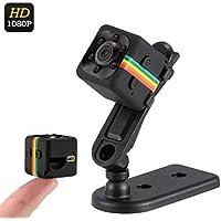 Mini Câmera Espiã Multifuncional Full-HD 1080p Visão Noturna Micro SD Até 32GB