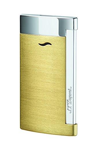 st-dupont-slim-7-lighter-brushed-yellow-gold