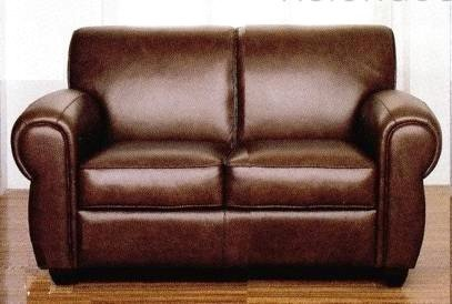 Surprising Amazon Com Chocolate Brown 100 Italian Leather Loveseat Caraccident5 Cool Chair Designs And Ideas Caraccident5Info