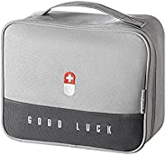 Aidou First Aid Bag,Camping and Hiking Essentials Emergency Care Bag First Aid Empty Kit Portable Medicine Bag