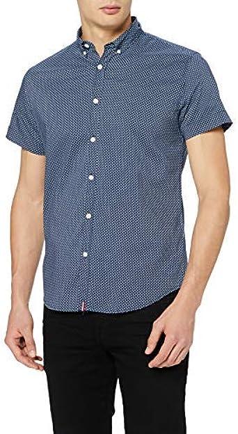 Springfield Daily Ex+st Micro Print Camisa Casual para Hombre
