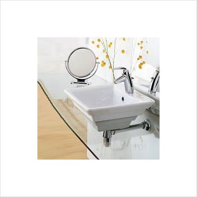(Porcher 15081-00.001 Cirque Above Counter Basin Only Vessel Sink,)