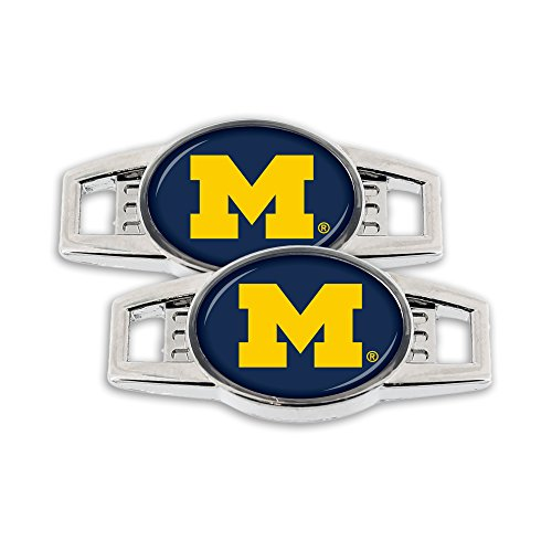 NCAA Michigan Wolverines Shoe Charm, -