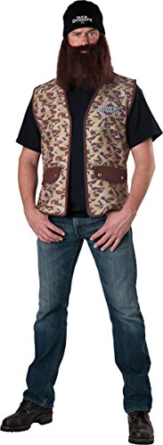Duck Dynasty Men's Jase Costume, Camouflage, One Size -
