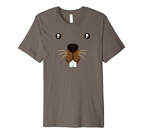 Happy Ground Hog Day Beaver Cute Animal Face Costume T-Shirt for $<!--$23.99-->
